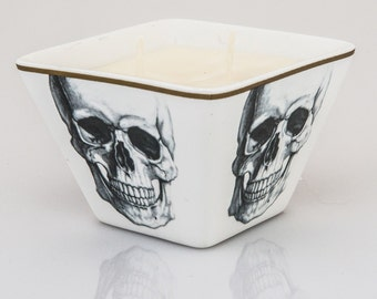 beeLUXE Candles - beeswax blend container candle - Skull - bee HEALTHY - beeLUXE