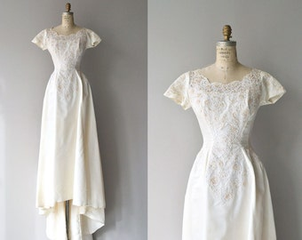 Dolce Cuore wedding gown | 1950s wedding dress | vintage 50s wedding gown