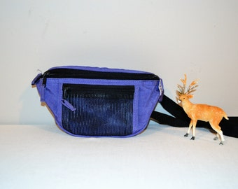 Vintage Fanny Pack Purple Rain