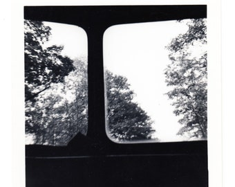 vintage abstract Photo Car Window View Travel snapshot Perspective