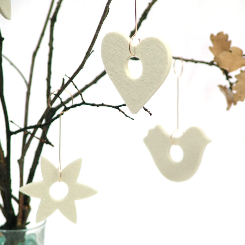 Nordic Christmas Tree Ornaments 3 Modern By SKANDINAVIOUS