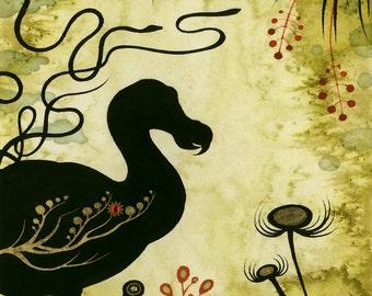 "Cirsium Vulgare print by Kamala Dolphin-Kingsley  -   16""x20"""