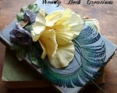 Tea With Lily - Tribal Belly Dance Hair Art Fascinator Clip