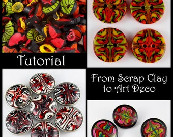 Tutorial - From Scrap Clay to Art Deco