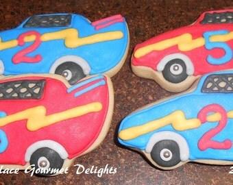 Race Car Cookies - 12 cookies