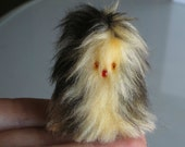 Monster plush miniature stuffed animal soft furry fuzzy Fur-bitz doll