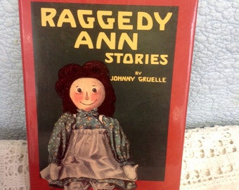 Vintage Raggedy Ann Stories Written and Illustrated by Johnny Gruelle, 1993 Hardcover,