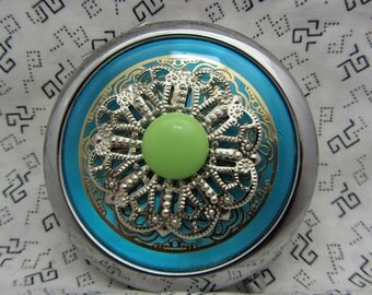 Compact Mirror Makeup Mirror Pocket Mirror Bridesmaid Maid of Honor Gift Bridal Shower Favors Comes With Protective Pouch DeeDee