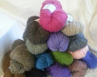 Peace Fleece Worsted Weight Wool Blend Yarn