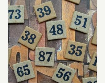 20PercentOff Antique Rare Numbered Anagrams
