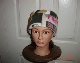 HomeFront Girl Fleece Beanie Hat