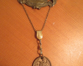 One Day She Decided To Just Be Herself Repurposed Findings Necklace Charm Necklace