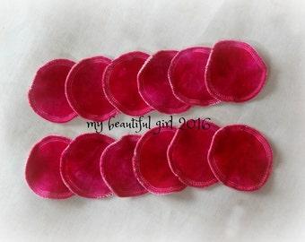 Reusable 'Cotton Balls' - Bamboo velour/sherpa facial rounds - makeup remover