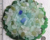 Reserved for Jacquline 252 Natural Sea Glass Shards Imperfections Art Mosaic Craft Supplies (1916)