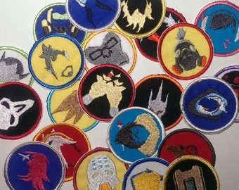 Overwatch: all 22 characters iron-on patches
