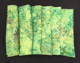 Lime Silk Scarf