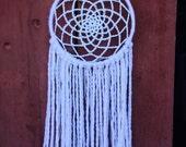 Small 6 inch Crochet Dream Catcher