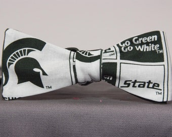 Michigan State University Block Bow tie