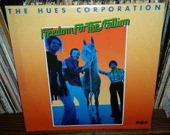 The Hues Corporation Freedom For The Stallion Vintage Vinyl Record