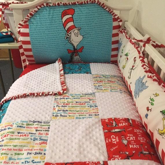 Dr. Seuss Crib Set by LittleAngelsLinens