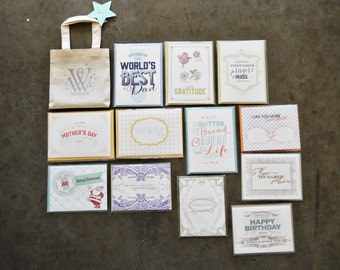SALE - Year Of Cards (Assorted) - 12 Cards And Envelopes
