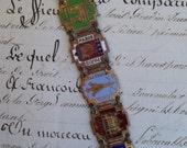 Paris  -Vintage Souvenir Bracelet