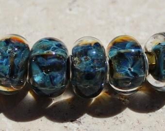 TORTUGA BAY Artisan boro beads by JRG