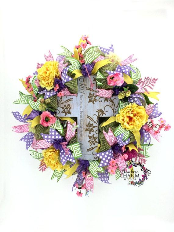 Custom Deco Mesh Wreath made Just For YOU -Personalized Deco Mesh Wreath -Custom Holiday Wreaths -Door Decor