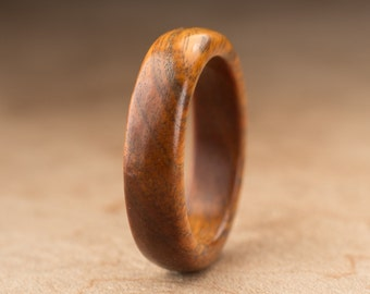 Size 6.5 - Guayacan Wood Ring No. 379