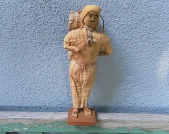 Guatemalan figurine handmade and vintage