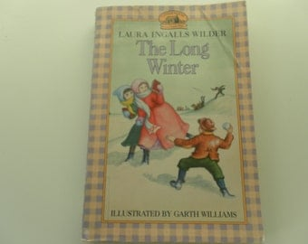 The Long Winter by Laura Ingalls Wilder 1994 vintage paperback