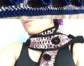 Tentacle Scarf, Made to Order, Customizable