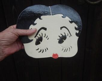 Betty Boop Wall Mask-Ceramic Wall Decor