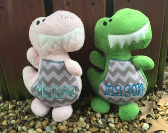 Dinosaur Stuffed Animal - Personalized Dinosaur - Dinosaur Toy - Boy - Girl - Gifts for Kids - Baby Gift - Dinosaur Plush - Dino - Trex