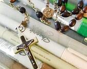 Vintage Rosary . FRANCE