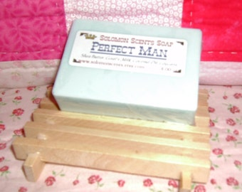 Perfect Man Shea Butter/Goats Milk Soap
