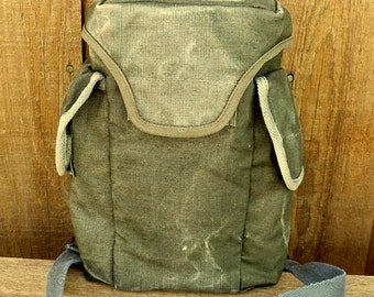 Awesome Man Bag - Vintage French Army Messenger Travel Bag