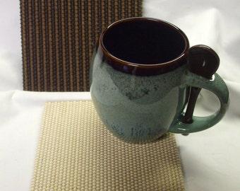 Bamboo Broomstick Coasters, Mug Rug, Candle Mat, Trivet