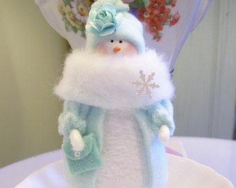 MADE TO ORDER....Prom Night Snowgirl....Sweet!!