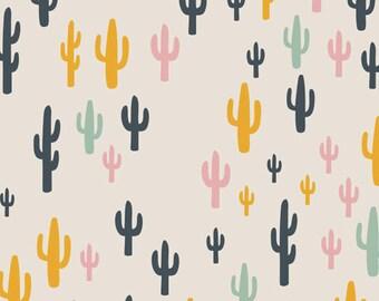Cacti Field Fun Art Gallery Fabric, Choose your cut