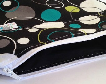 Accesary Bag | Diaper Clutch | Mom Clutch | Travel Pouch | Wipes Case | You Pick Fabric