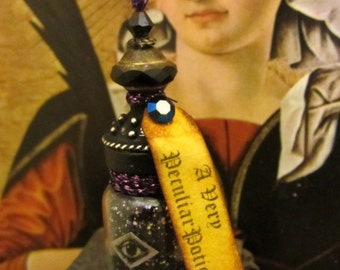 A Very Peculiar Potion dollhouse miniature, potion bottle in 1/12 scale