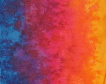 Hand Dyed Fabric Gradient  - Sundance