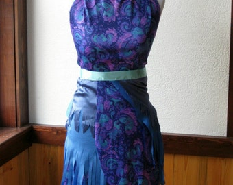 Fairy Pixie Purple and Teal Skirt and Top