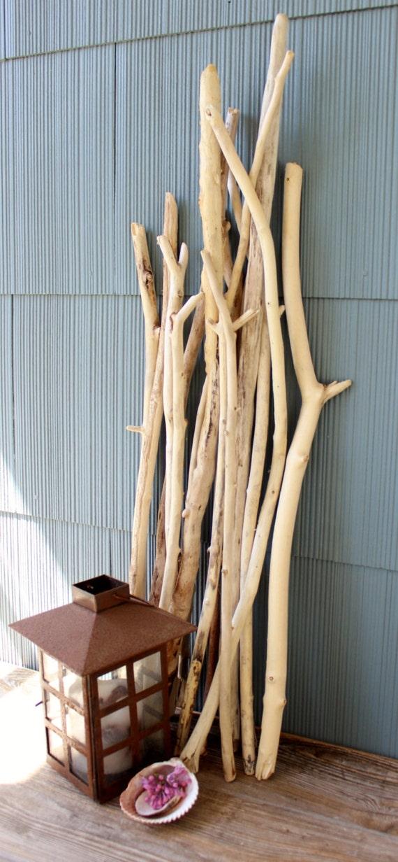tall driftwood sticks branches natural home decor diy beach