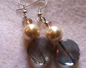 Purple Passion Earrings (Pierced/Clip On) Earrings No. 1