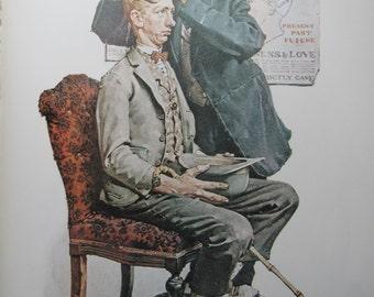 Norman Rockwell Advertising Print Lancaster Turkeys Reprint