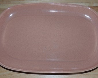 Russel Wright Steubenville Mid Century 1 Coral Platter