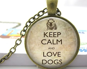 Dog Lover Pendant Necklace