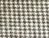 LT. CHARCOAL HOUNDSTOOTH Flannel Designer Dog Belly Band